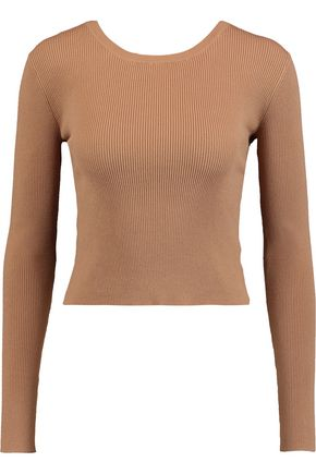 A.L.C. Chance ribbed-knit sweater