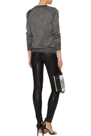EQUIPMENT Sloane metallic wool-blend sweater