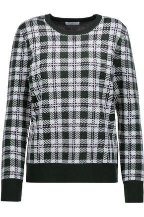 EQUIPMENT Shane plaid wool sweater