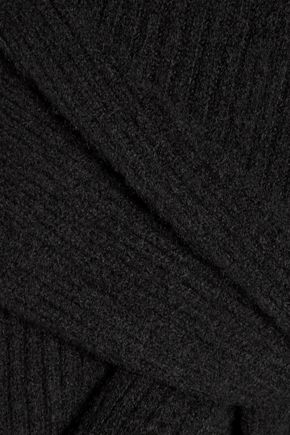 R13 Ribbed-knit cashmere turtleneck sweater