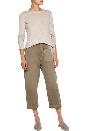 AUTUMN CASHMERE Asymmetric cashmere sweater