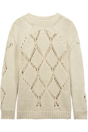 SANDRO Spandau open-knit sweater
