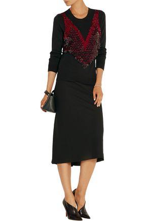 ALTUZARRA Powell embellished merino wool sweater