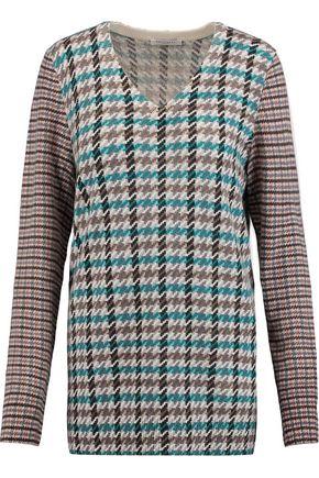 EQUIPMENT Whitney jacquard-knit cashmere sweater