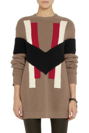 GIVENCHY Chunky-knit wool and cashmere-blend sweater