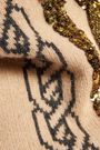 MARKUS LUPFER Natalie sequined intarsia-knit wool sweater