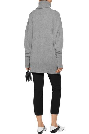 MARKUS LUPFER Intarsia-knit wool turtleneck sweater