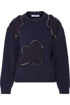 J.W.ANDERSON Zip-detailed wool sweater