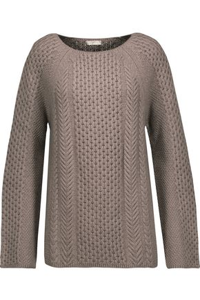 JOIE Fazia cable-knit sweater