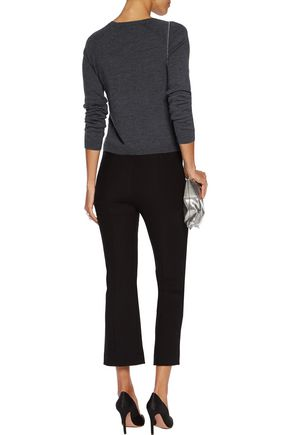 ALICE + OLIVIA Hello Goodbye sequined wool-blend sweater