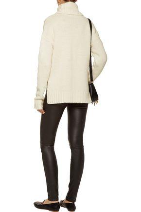 A.L.C. Jake asymmetric wool turtleneck sweater