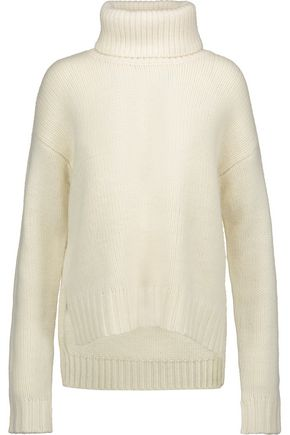 A.L.C. Jake asymmetric wool turtleneck sweater