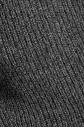 SEA Striped wool and cashmere-blend turtleneck sweater