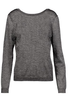 EQUIPMENT Calais metallic wool-blend sweater