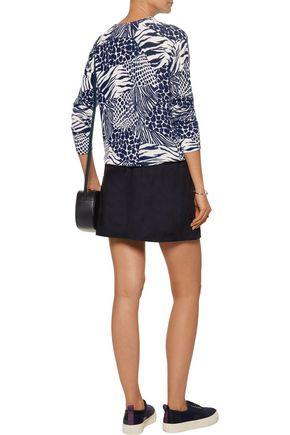 EQUIPMENT Sloane intarsia-knit cashmere sweater