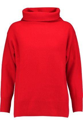 SANDRO Paris Wool turtleneck sweater