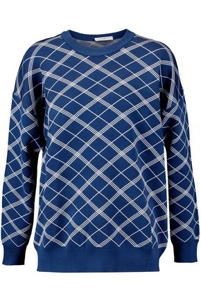 SANDRO Stretch-jersey sweater
