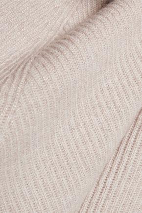 BRUNELLO CUCINELLI Metallic ribbed wool-blend sweater