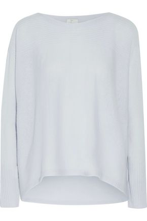 JOIE Fai ribbed-trimmed cashmere sweater