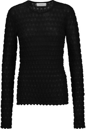 CARVEN Stretch-cloqué sweater