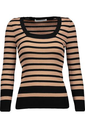 PHILOSOPHY di LORENZO SERAFINI Striped ribbed wool sweater