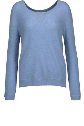 JOIE Lisha waffle-knit wool and cashmere-blend sweater