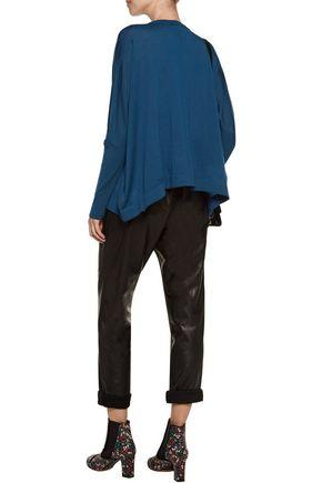 KENZO Oversized asymmetric wool sweater