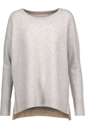 BY MALENE BIRGER Tillon marled wool and cashmere-blend sweater
