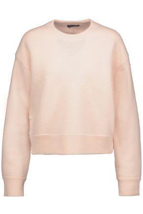 RAG & BONE Kassidy button-detailed merino wool felt sweater