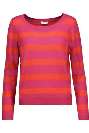 JOIE Cais striped cashmere sweater
