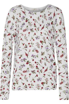 JOIE Feronia floral-print cashmere sweater