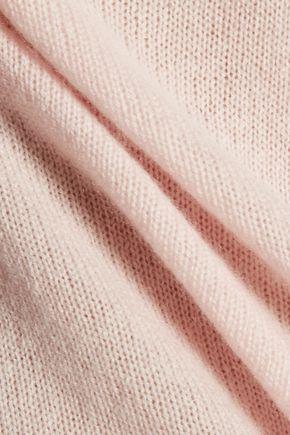 HALSTON HERITAGE Open-back cashmere sweater
