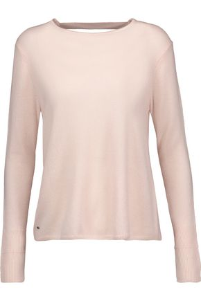 HALSTON HERITAGE Open-back cashmere sweater
