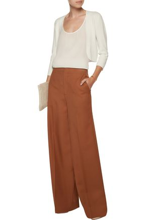 THEORY Amarissa cropped stretch-knit cardigan