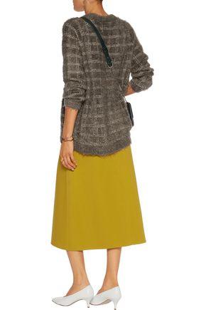 GANNI Claudia stretch-knit sweater