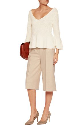 BY MALENE BIRGER Ciminti fluted textured-knit sweater