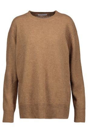 SANDRO Calvin camel-hair sweater