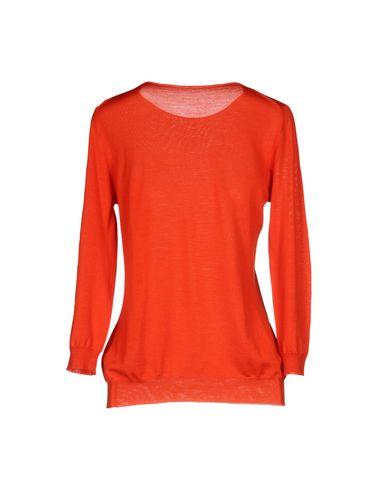Фото 2 - Женский свитер ROBERTO COLLINA красного цвета