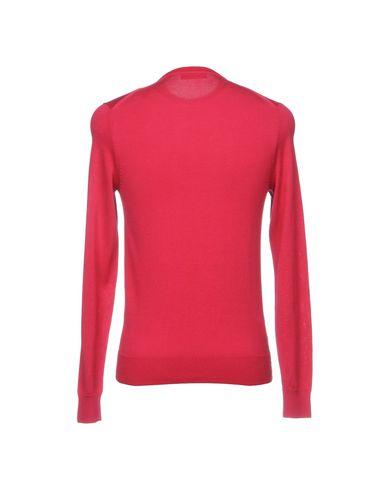 Фото 2 - Мужской свитер  цвет пурпурный