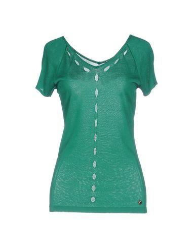 VERSACE COLLECTION Damen Pullover Grün Größe 32 80% Viskose 20% Polyamid