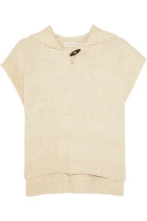 ISABEL MARANT ÉTOILE Flora hooded cotton-blend sweater