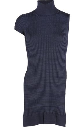 JIL SANDER Open-back ribbed-knit top