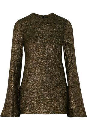 •ELLERY• Inception metallic knitted sweater