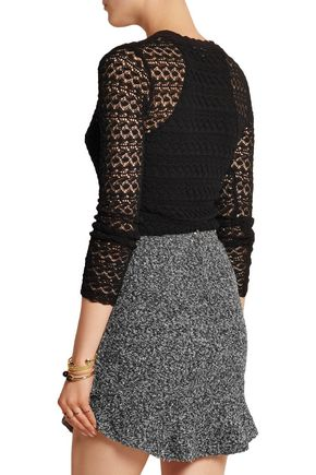 ISABEL MARANT Dulcie crocheted cotton top