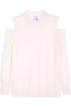 IRIS & INK Paloma cutout cashmere sweater