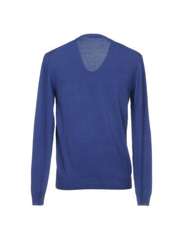 Фото 2 - Мужской свитер  темно-фиолетового цвета