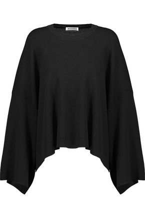 JIL SANDER Oversized stretch-knit top