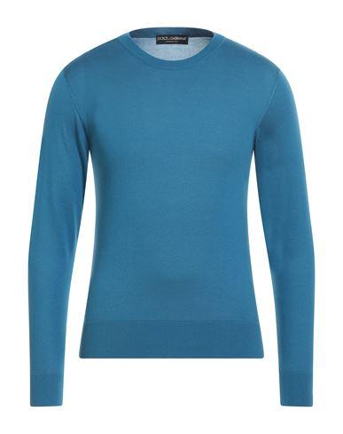Фото - Мужской свитер  пастельно-синего цвета