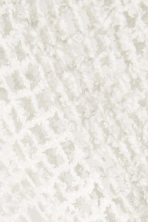 IRO Erin open-knit cotton-blend top