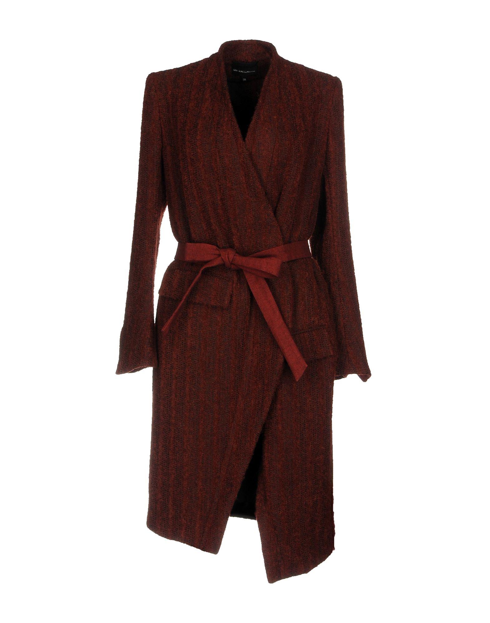 Ann Demeulemeester Belted coats
